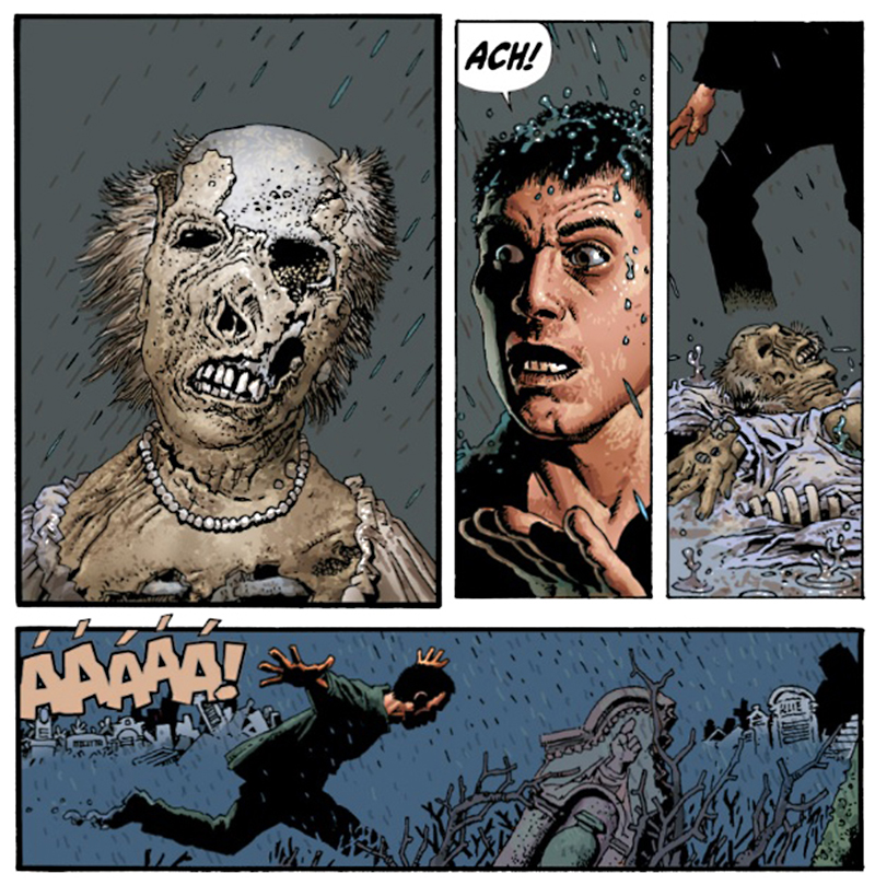 komiks duchové mrtvých